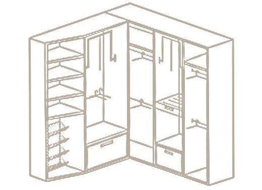 Угловой шкаф своими руками1