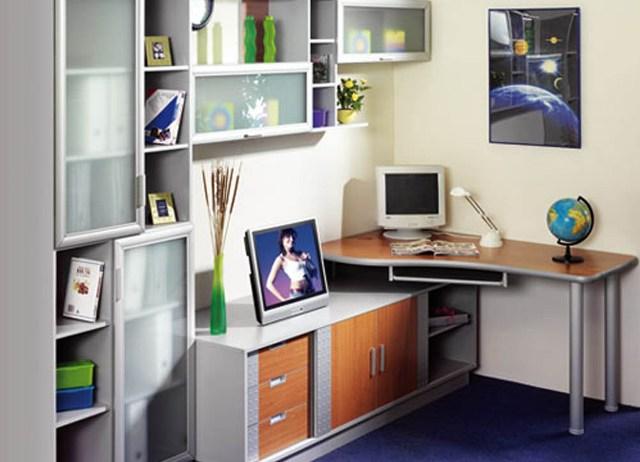 Правильно подобранная и расставленная мебель для детской комнаты школьника,
