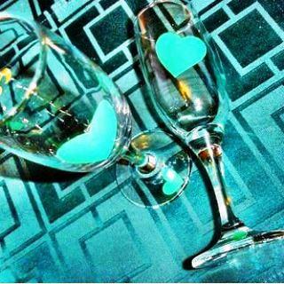 Свадебные стаканы своими руками