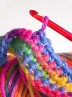 Узоры крючком для шарфа