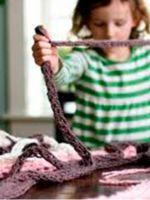 Узоры спицами для детских вещей
