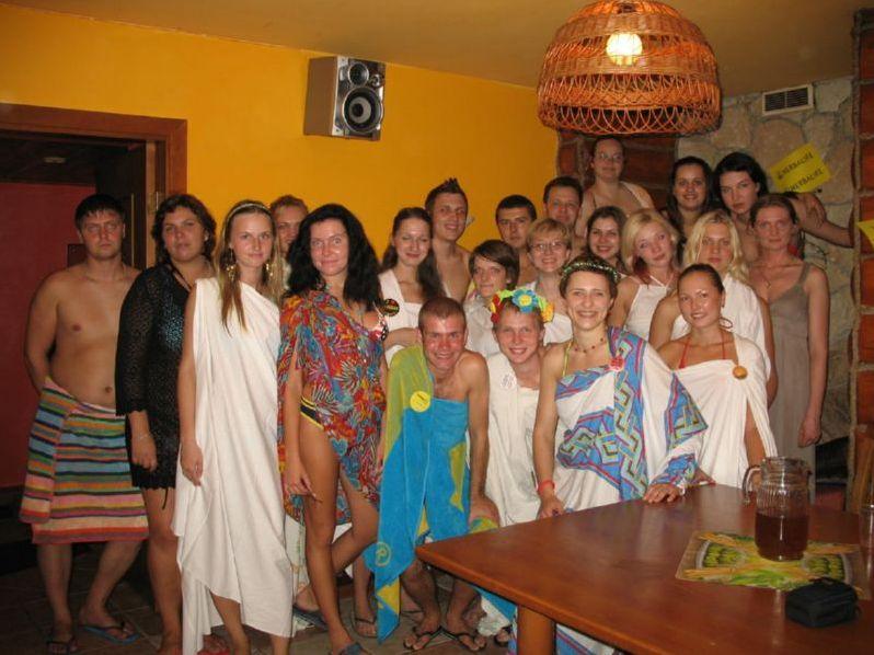 фото вечеринки в бане