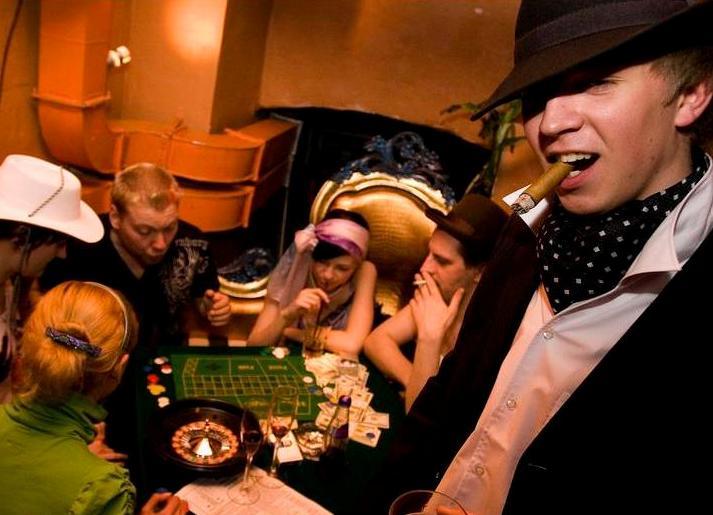 Конкурсы на вечеринки мафии