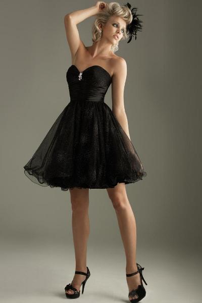 вечерние мини платья 3