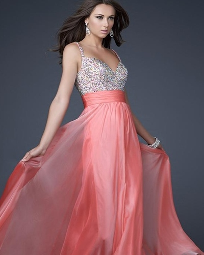 Платья длинные из шифона вечерние фото