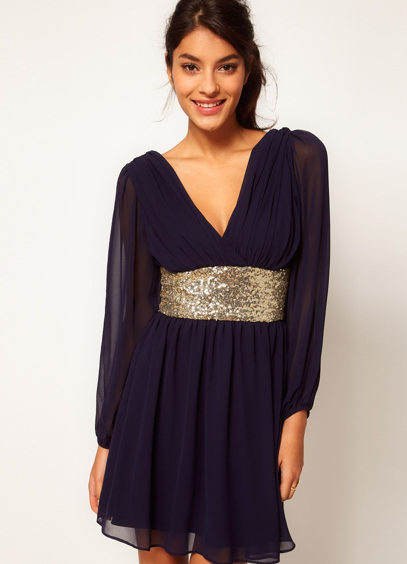 Пышные вечерние платья с рукавом