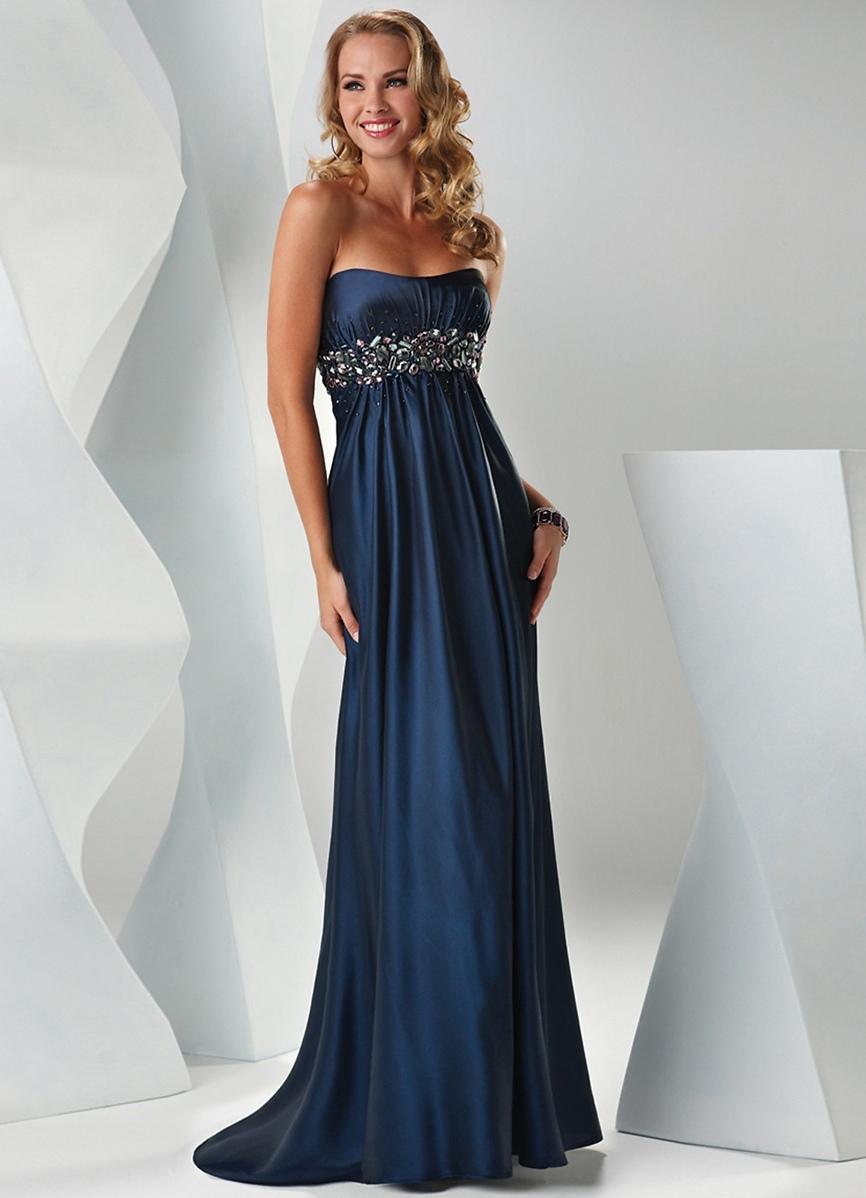 Цвет платья ампир