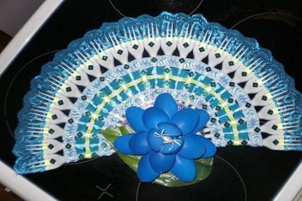 Цветы из упаковочной ленты своими руками фото 288