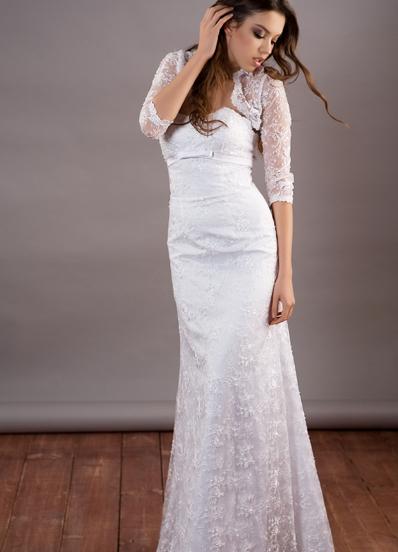 Красивое платье для регистрации