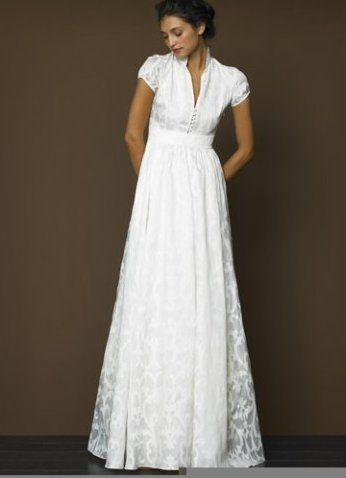 Белое венчальное платье