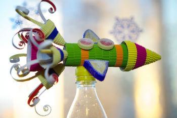 Как сделать игрушки на елку своими руками