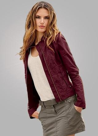 Женская осенне-весенняя куртка предназначенная для ношения в прохладное время года