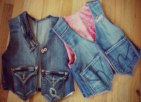 Что сшить из старых джинсов своими руками выкройки