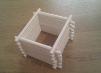 как сделать дом из бумаги фото 4