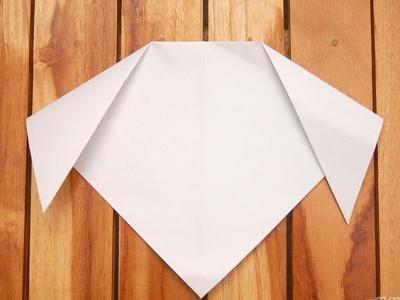 как сделать из бумаги собаку_31