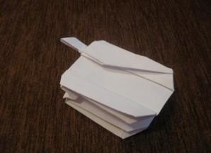 как сделать телефон из бумаги 29