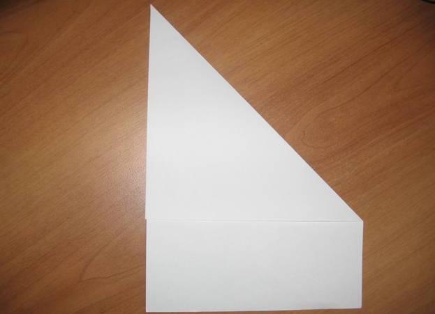 Фото квадрат из бумаги