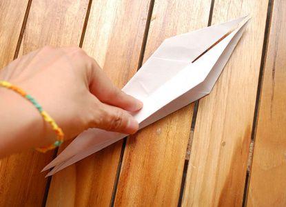 как сделать журавлика из бумаги фото 17