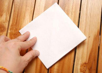 как сделать журавлика из бумаги фото 7