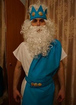 костюм нептуна своими руками 30