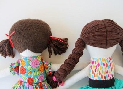 куклы из ткани своими руками 15