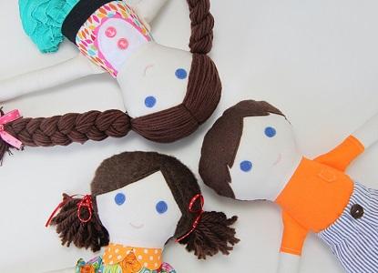 куклы из ткани своими руками 18