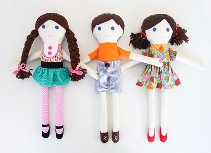 куклы из ткани своими руками 2