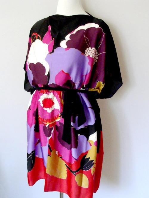 платье из платков_10