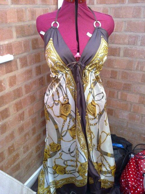 платье из платков_12