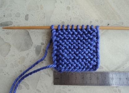Тапочки вязанные на двух спицах 3