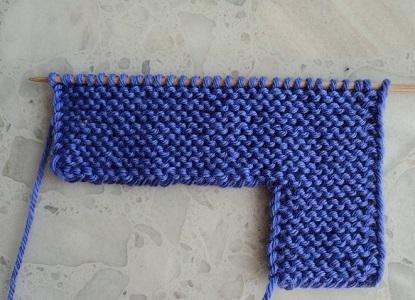 Тапочки вязанные на двух спицах 5