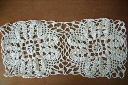 вязание скатерти крючком фото 14