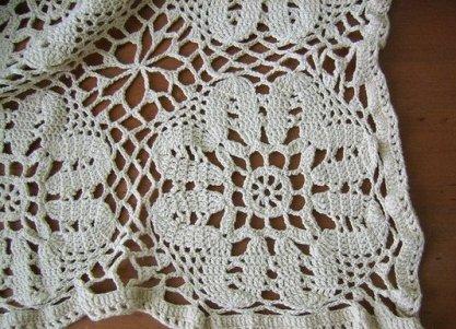 вязание скатерти крючком фото 16