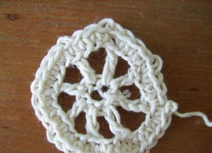 вязание скатерти крючком фото 5