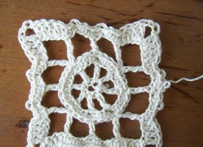 вязание скатерти крючком фото 7