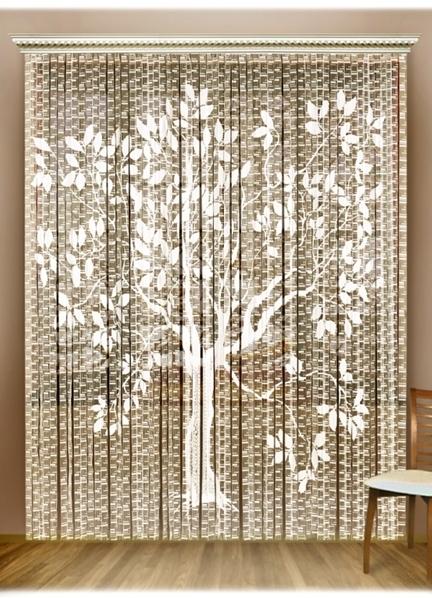 Декоративные занавески в дверной проем
