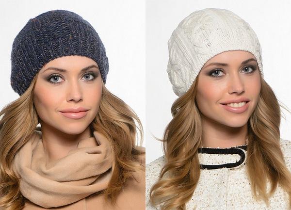 Модные вязаные шапки осень-зима своими руками схемы