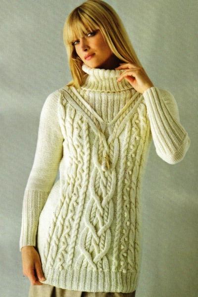 Вязанные женские свитера