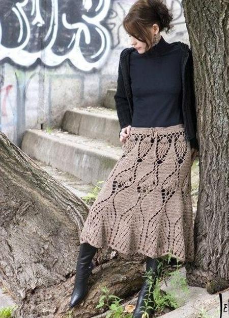 тренд пышная юбка