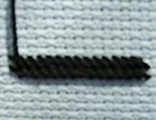 вышивка гобеленовым швом 7