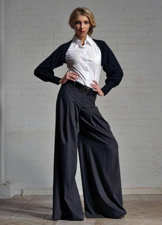 Юбки штаны длинные