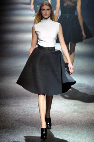 Фото платьев колокол и юбок