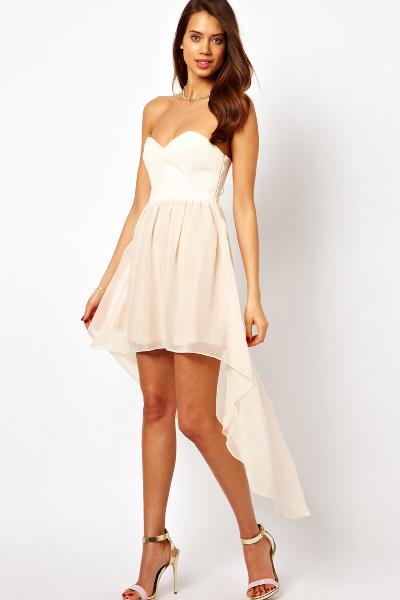 пришить перья на платье