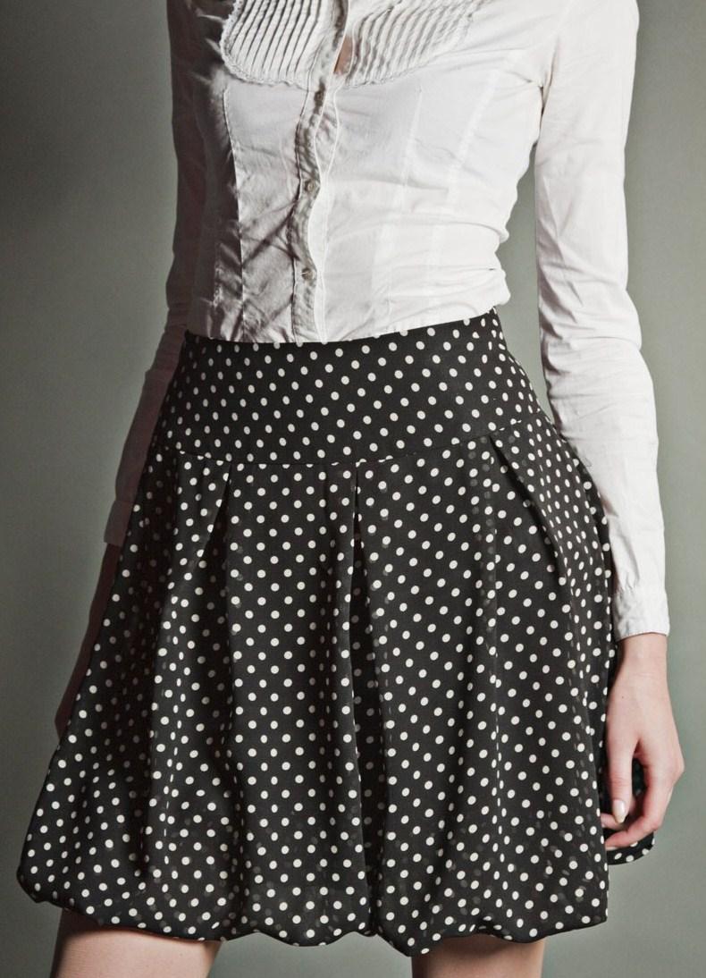 Картинки юбки в горошек