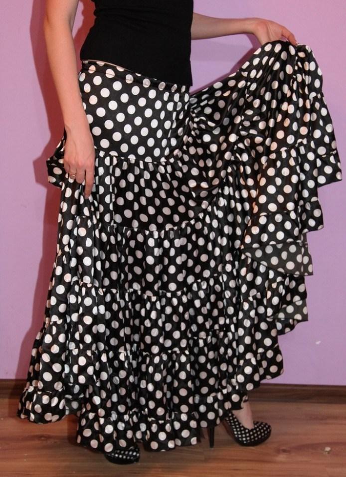 Ткани в горошек для юбки
