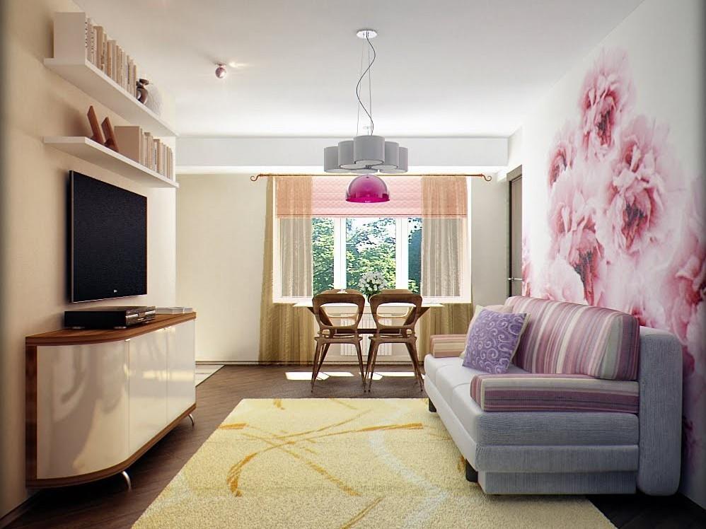 Современный дизайн маленькой квартиры — фото идеи интерьера