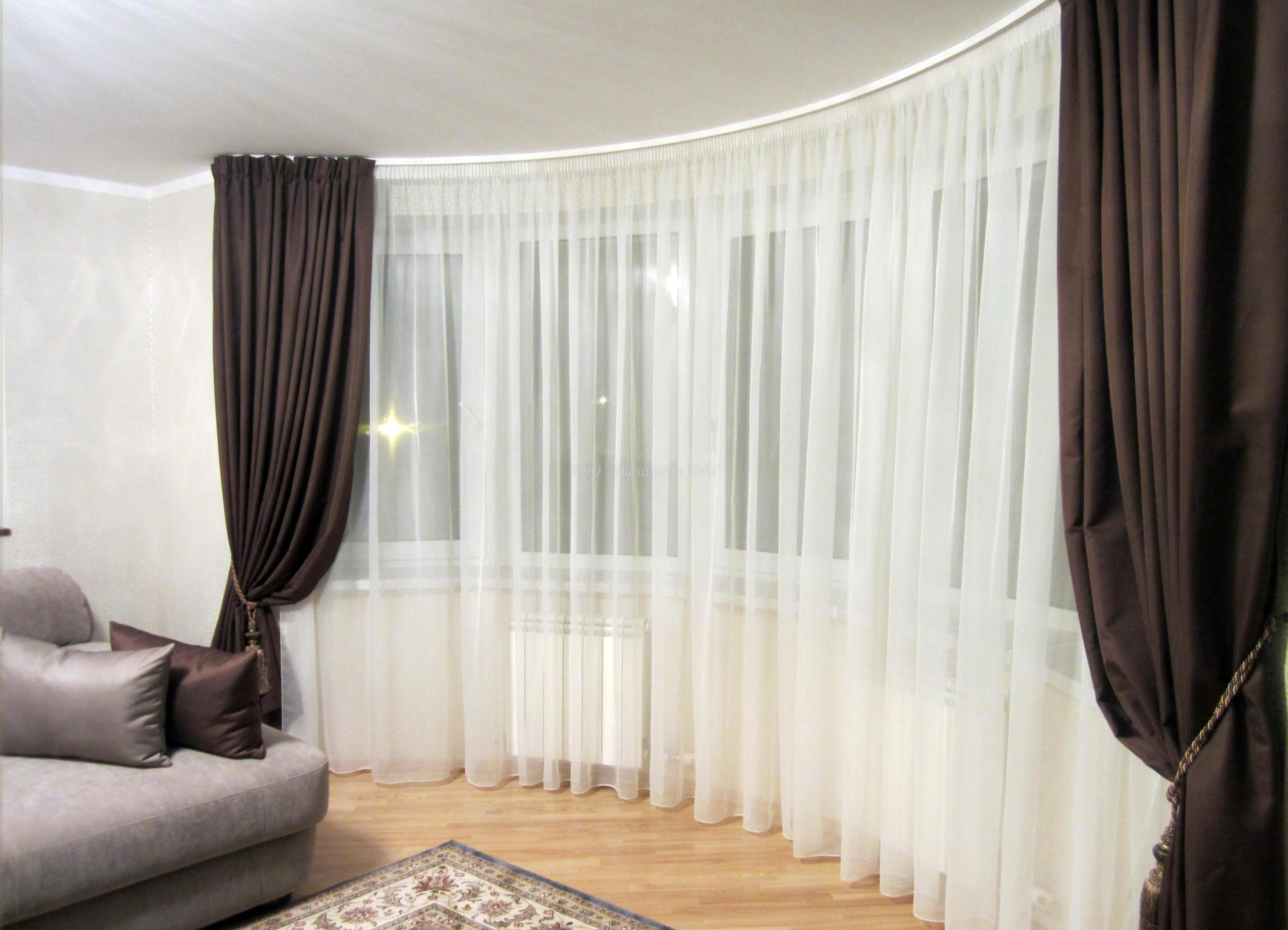 Как красиво сшить шторы для комнаты фото 146