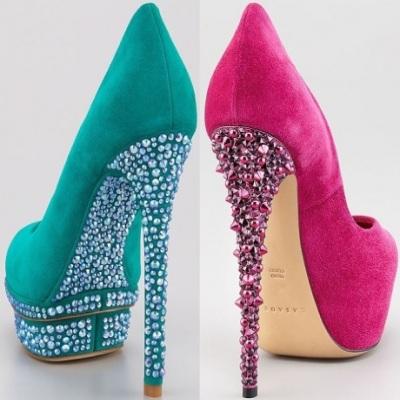 Модные Туфли На Шпильках