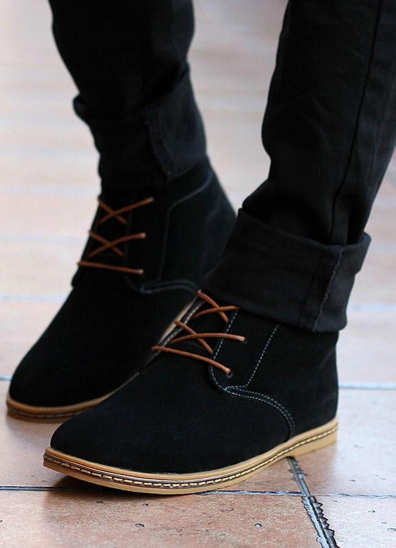 осенние ботинки женские без каблука фото