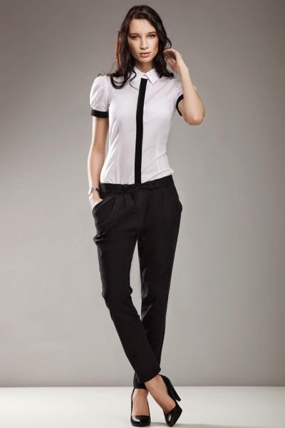 брюки черные фото